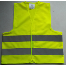 EN1150 reflecting reflective kids safety vest