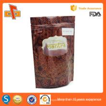 Эко-фриленды алюминиевой фольги стоять кофе упаковка мешок сумка с фасонные окна