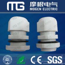 Alta calidad de fuerte capacidad de carga PG-9 DIN color negro tipos de prensaestopas