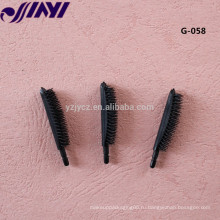 Одноразовая мини-черная тушь для ресниц, кисточка для ресниц
