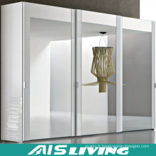 Modern White Pull Out Melamine Walk in Wardrobe Closet (AIS-W020)