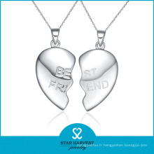Fashion Friendship 925 Silver Heart Pendant Wholesale (SH-N0260)