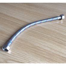 Tubo de aço inoxidável trançado tubo higiênico flexível mangueira de água