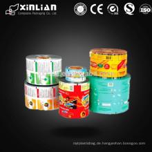 Laminierte Lebensmittelqualität Kunststoff Verpackung Beutel Rollen