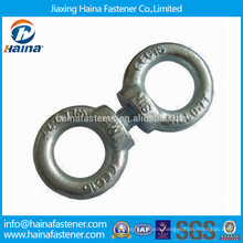 China Galvanized Carbon Steel Drop Forged Lifting Din582 Eye Nut