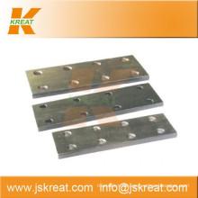 Aufzug Parts| Guiding System| Aufzug Cold-Drawn Guide Rail Fishplate|joint Platte