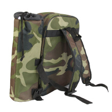 Custom Camouflage Green Camping Out Backpack