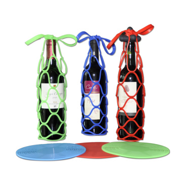 Wine Drink Basket Silicone Bottle Holder