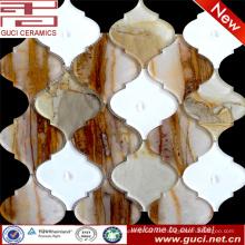 china fábrica barato linterna acrílico mosaico vidrio azulejos precio
