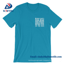 Factory Wholesale Price High Quality Cotton Custom T shirt for Man