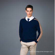Men's Fashion Cashmere Blend Sweater 17brpv070