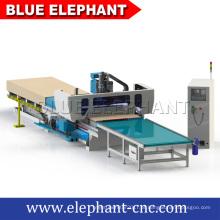 Preço de fábrica 3d carpintaria cnc router, cnc router linha de produção de móveis para fabricação de móveis para casa