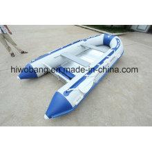 4,2 m PVC-aufblasbare Fischerboot gemacht in Weihai