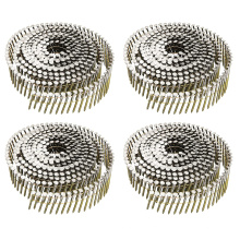 """2.1X45mm 1 1/4"""" wire weld wooden pallet coil nail"""