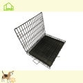 Hopular Heavy Duty Two Doors Black Dog Kennels