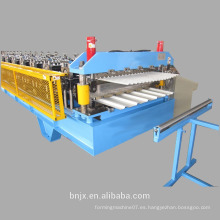 El rodillo del panel de la azotea de la capa doble que forma la máquina, rodillo de la pared / de la azotea de la capa doble que forma la máquina