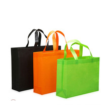 promotional grocery bags cheap 80gsm no woven tote custom printing shopping bag