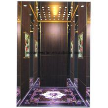 Etching Mirror Stainless Steel Elevator Cabin