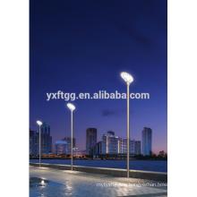 Postes de luz solar para jardines callejeros