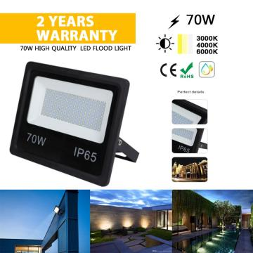70W IP67 LED Flood Light mejor lámpara
