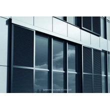 Exterior Sunshade Sliding Aluminium Louvre Window