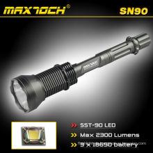 Maxtoch SN90 SST-90 LED-High-Power-Stil starke Licht Taschenlampe