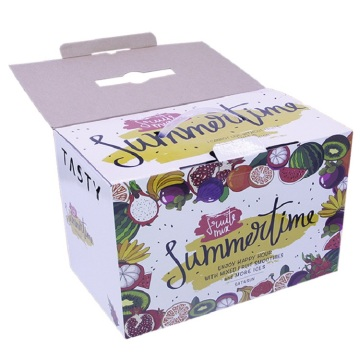 Apple Fruit Gift Packaging Box With Handle