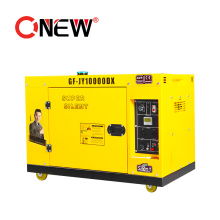 High Quallity portable Sound Proof Duel Fuel AC Synchronous Wind Power Motor Gas Generator 5kw Price
