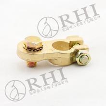 Conector de bateria de latão de alta qualidade, terminal de bateria de crimpagem resistente