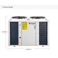 220 V 380 V 5kw 8kw 10kw 15kw 20kw 30kw poder-25c grau frio temp evi dc inversor fonte de ar bomba de calor aquecedor de água
