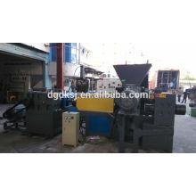 PE pp filme três fase alta capacidade 12-15 toneladas/dia reciclagem de plástico máquina do granulador