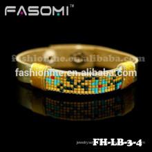 Guangzhou Fashionme bracelet de cuir tressé à la main enveloppe