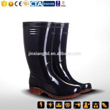 CE S5 China Nova borracha & PVC Rain Boot & PVC & TPR botas de injeção