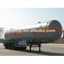 3 axle 55m3 lpg semi trailer tanker for sale