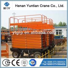 SJY 0.3-6 ascenseur hydraulique de ciseaux / plate-forme de fonctionnement