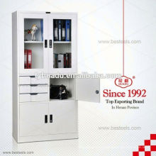 laundry tub with cabinet/ high quality hot sale modern design KD steel cabinet/ prefab kitchen cabinet