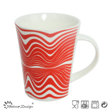 12oz New Bone China Ceramic Mug with Decal
