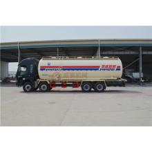 Hongyan 8*4 Chassis 32 Tons Capacity Powder Tanker Truck