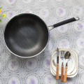 Stainless Steel Nonstick Wok Pan Easy Cleaning Cookware