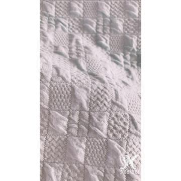 Dreidimensionaler Stretch-Jacquard-Strickstoff