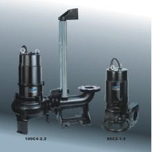 Bomba sumergible para aguas residuales con CE y UL (80 º C / 100C)