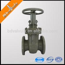 GOST cast iron simple disc manual gate valve