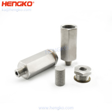 Stainless Steel Gas Safety Device Check Valves Flame Arrester Stainless Steel Filter Flash Back Arrestor for Gas Analysis System