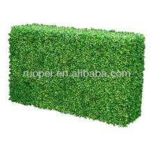 Artificial boxwood hedge plastic leaf fence