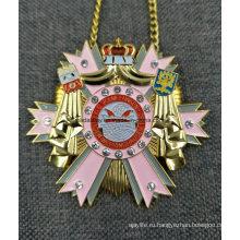 Подгонянный Умирает Casted Большой Германия Медаль Медальон