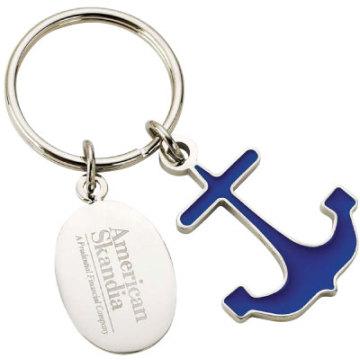 Kundenspezifische Metall-Schlüsselkette für Förderung-Geschenk (KD-001)