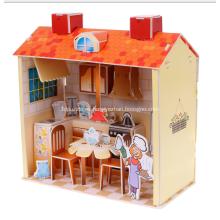 Puzzle 3D cocina dulce