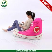 Zapato de beanbag de moda, bolsa de frijol moderno diseño creativo