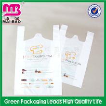 El sellado de calor alcanza el material no tóxico del grado alimenticio bolsos para llevar plásticos de la comida fábrica de Guangdong