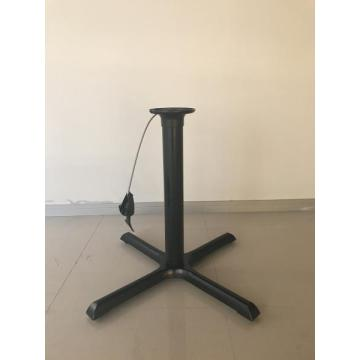 Gas Lift Height Adjustable Pneumatic Table Base